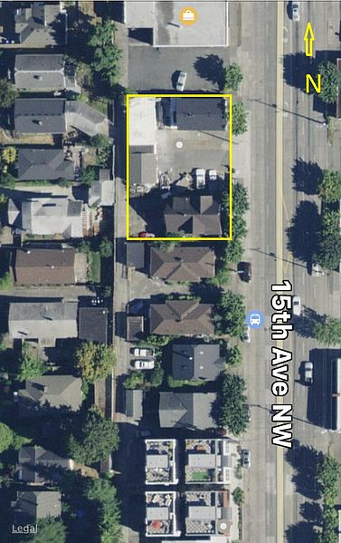 Ballard Townhome Site For Sale