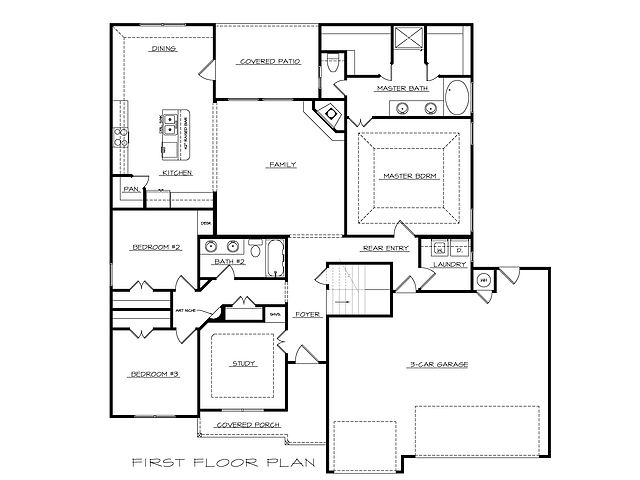 Pacific Floor Plan